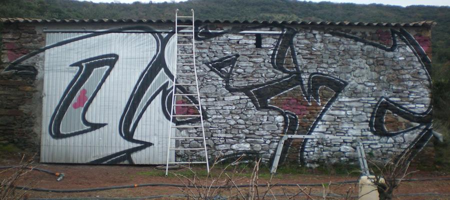 les tags et graffitis