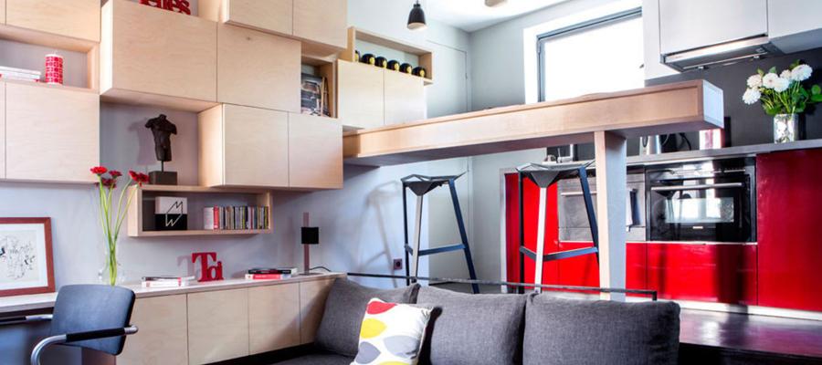 gagner de l 39 espace de rangement dans la maison. Black Bedroom Furniture Sets. Home Design Ideas