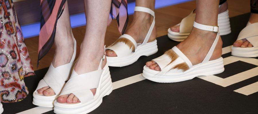 tendances en chaussures