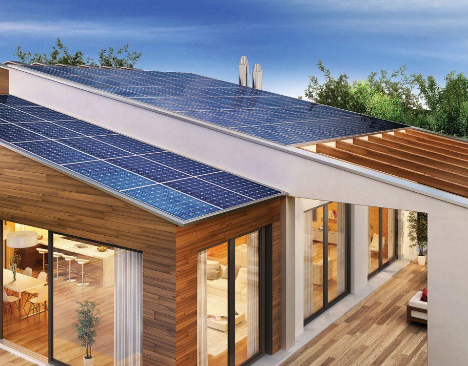l'énergie solaire pour les maisons