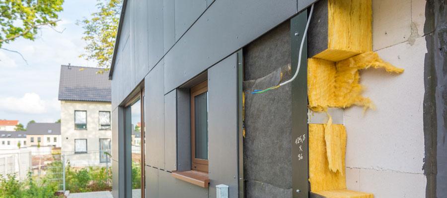 isolation de façades