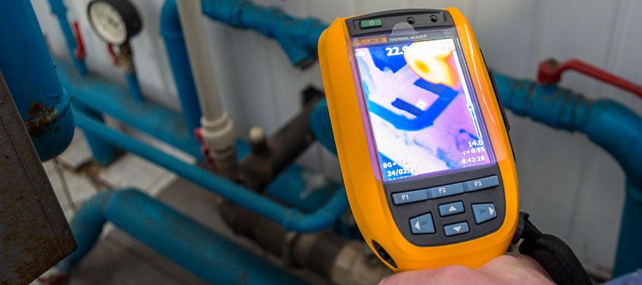Inspection de canalisations pour détection de fuites d'eau