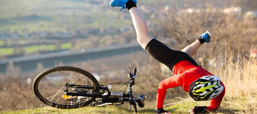 accidents à vélo